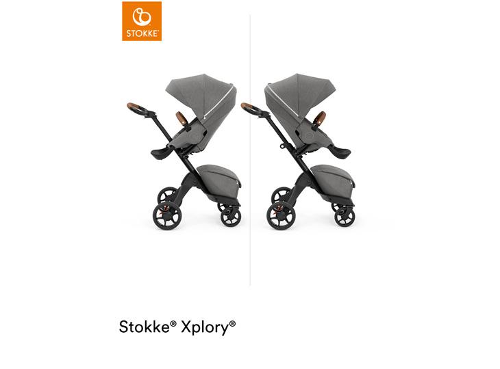 Stokke® Xplory X Modern Grey omkeerbaar