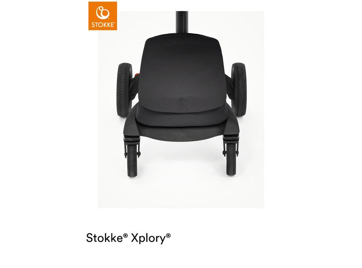 Stokke® Xplory X Rich Black boodschappentas