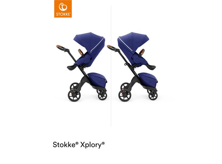 Stokke® Xplory X Royal Blue omkeerbaar