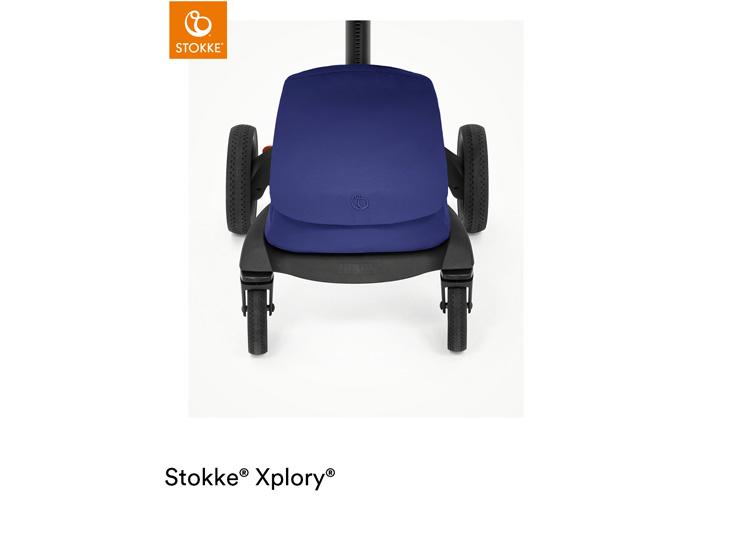 Stokke® Xplory X Royal Blue boodschappentas
