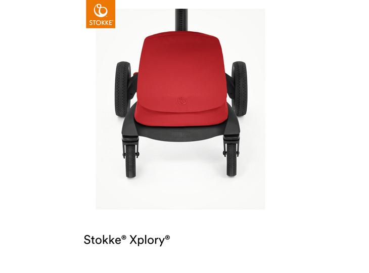 Stokke® Xplory X Ruby Red boodschappentas