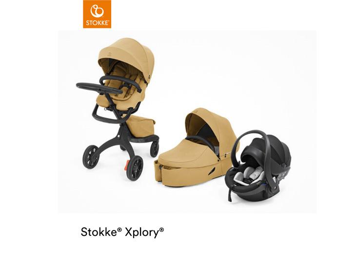 Stokke® Xplory X, 3 in 1 met wieg en autostoeltje