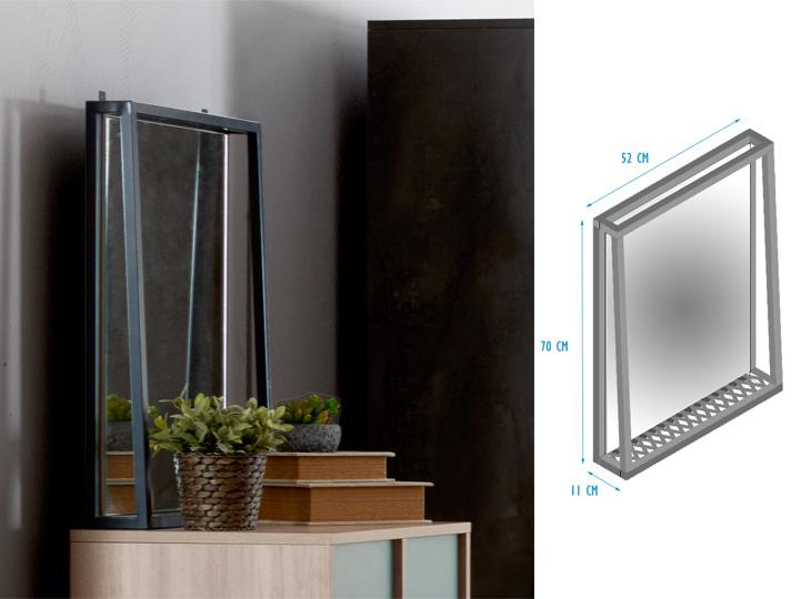 Iron Wandspiegel
