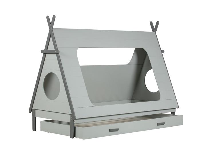Tip bed met lade